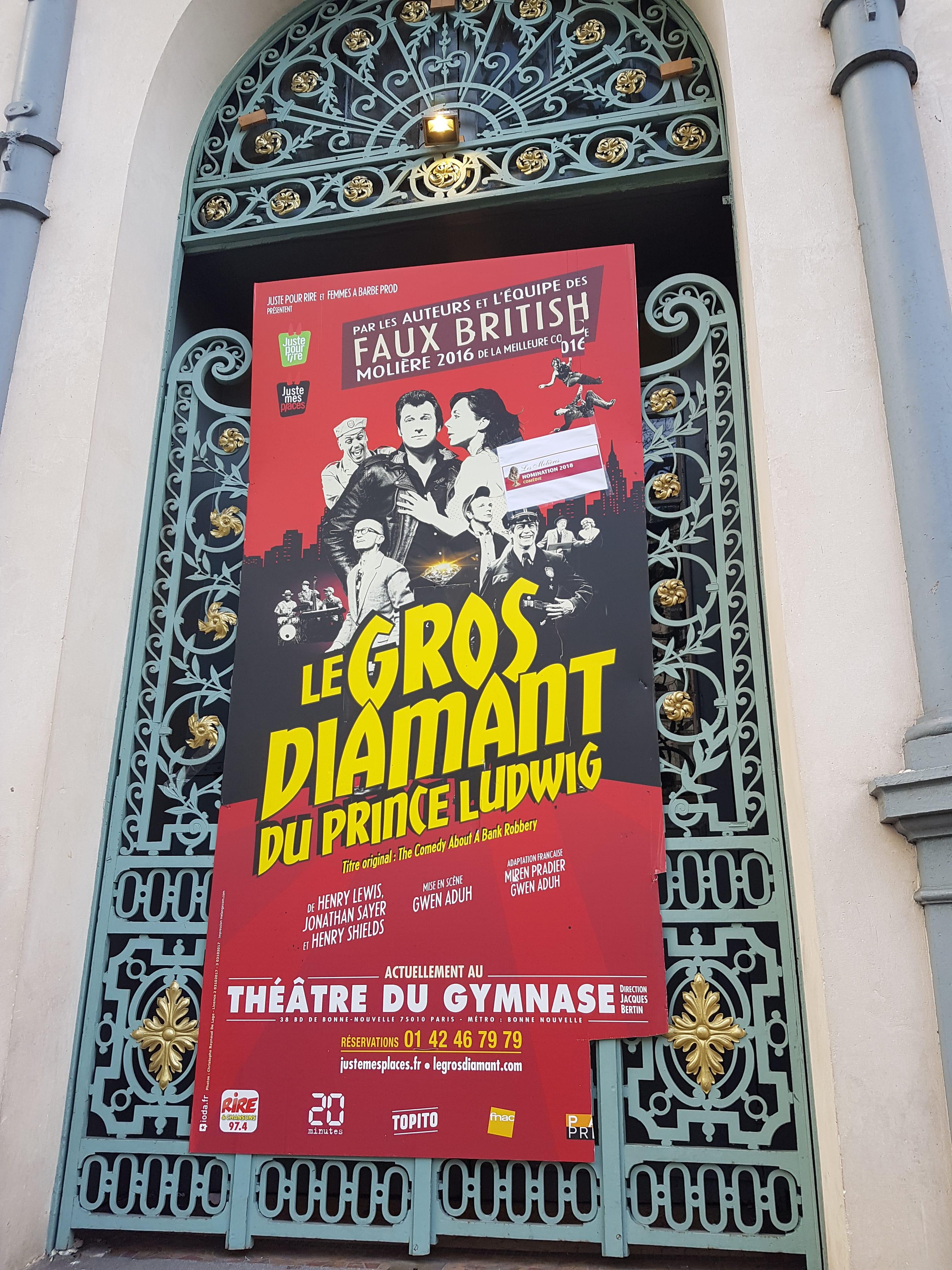 Théâtre Le Gros Diamant du Prince Ludwig